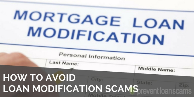 Avoiding Loan Modification Scams
