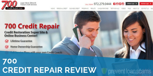 700 Credit Repair Review 2020