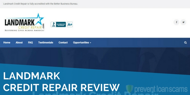 Landmark Credit Repair Review 2018