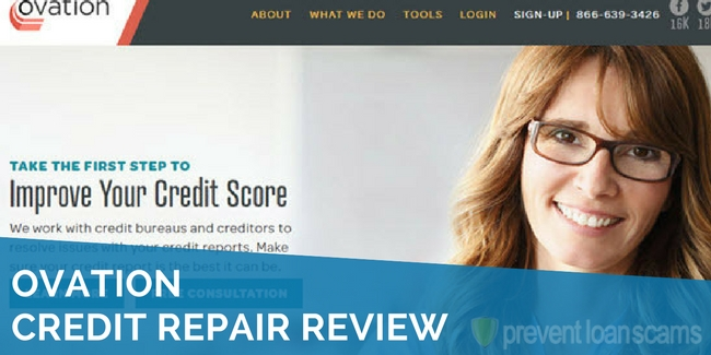 ovation credit repair review