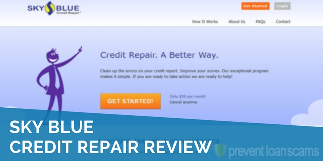 Sky Blue Credit Repair Review 2020