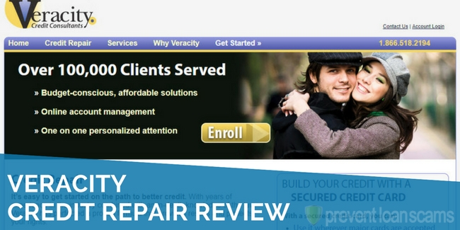 Veracity Credit Consultants Review
