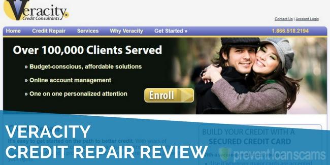 veracity credit repair review