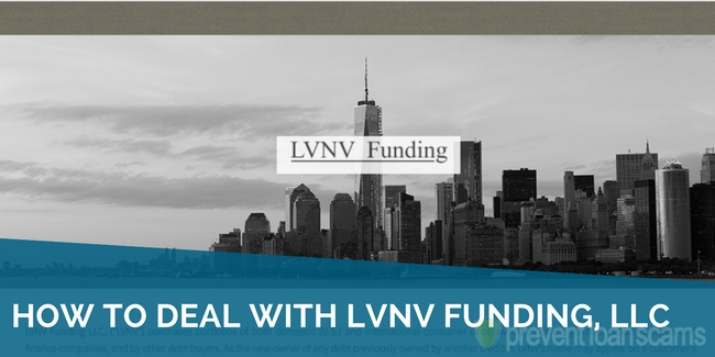 how to deal with lvnv funding llc