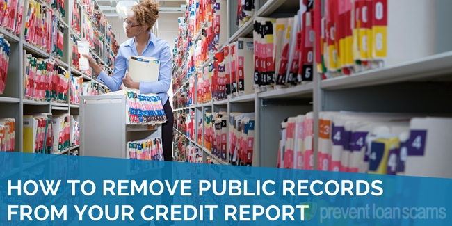 How to Remove Public Records From Your Credit Report
