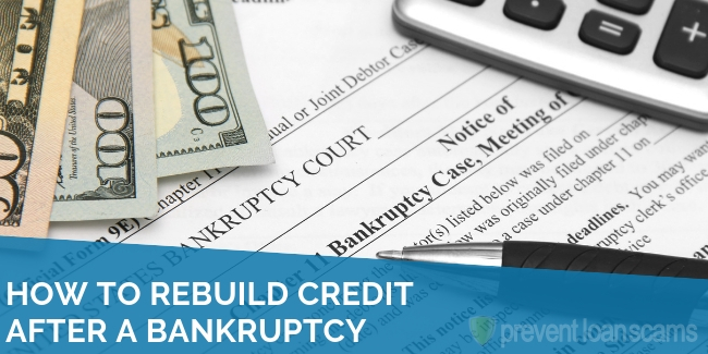 How to Rebuild Credit After a Bankruptcy