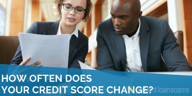 How Often Does Your Credit Score Change