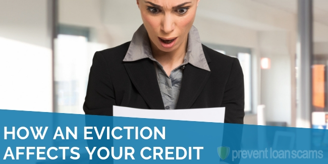 How an Eviction Affects Your Credit