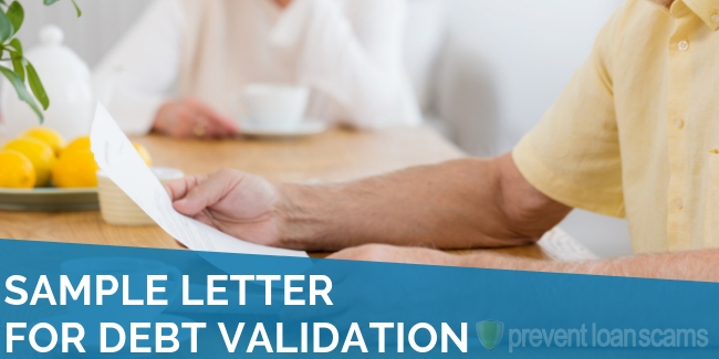 Sample Letter for Debt Validation