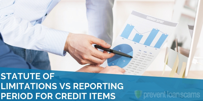 Statute of Limitations vs Reporting Period for Credit Items