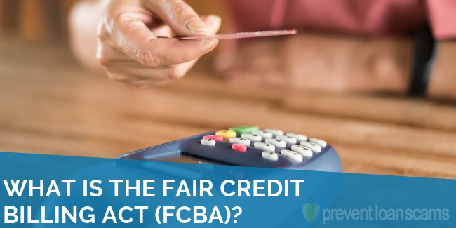 What is the Fair Credit Billing Act (FCBA)